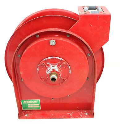 Speedaire Red Hose Reel 2z862 For 14 Air Hose