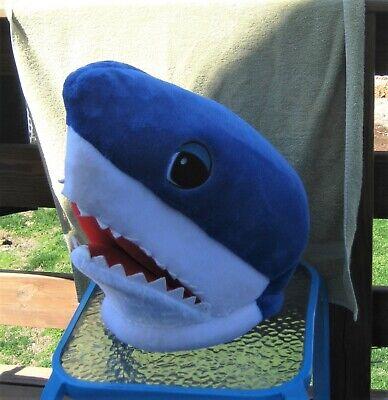 Shark Head Costume (Dan Dee Big Greeter Plush Shark Head Costume Cosplay Mask Adult Size)