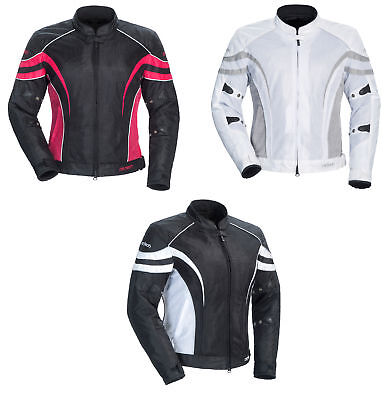 Cortech LRX Air Series 2 Textile Mesh Womens Motorcycle Jacket All Sizes Colors Air Series 2 Jacket