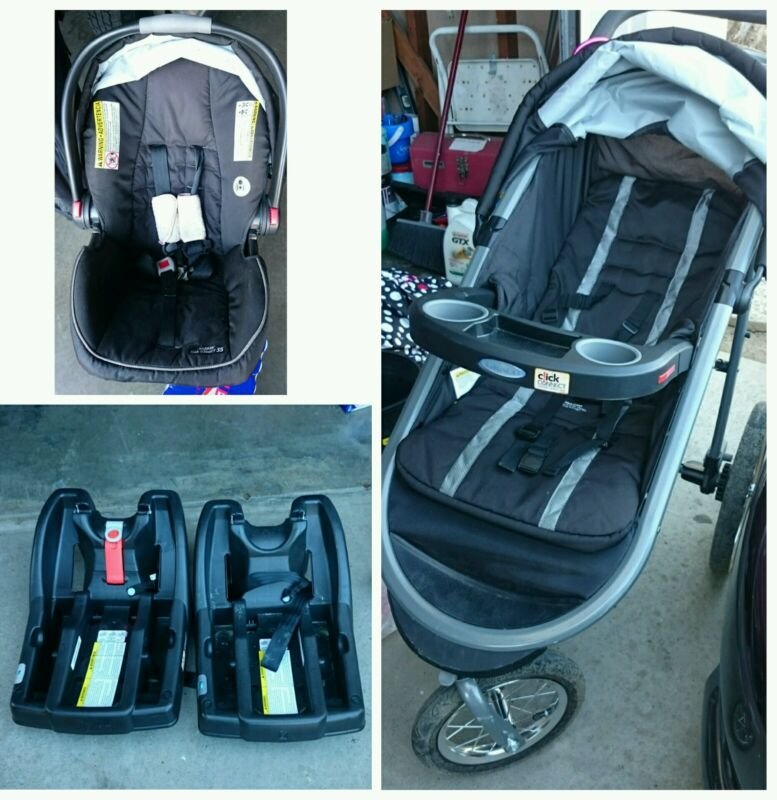 Baby stroller car seat combo