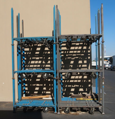 Stackable Carts w/Wheels An Lift Slots, 1000 lb Capacity (Woodworking Machinery)