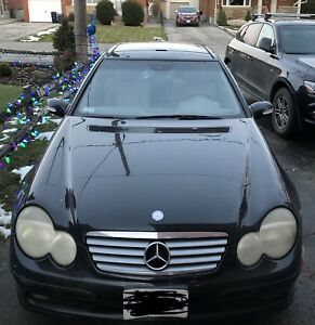 2002 Mercedes Benz c230 kompressor coupe 6 speed