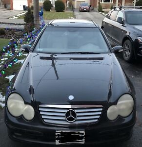 2002 Mercedes c230 kompressor coupe AS IS