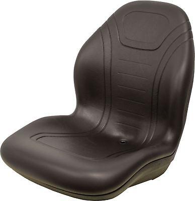 Kubota B1700-b2400 And L2500-l4200 Series High Back Black Vinyl Bucket Seat
