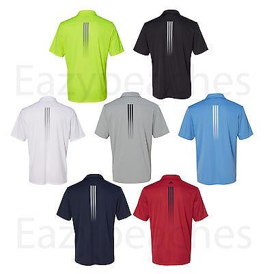 ADIDAS GOLF - Gradient 3-Stripes Polo, Mens Sizes S-3XL, Climalite Sport Shirt