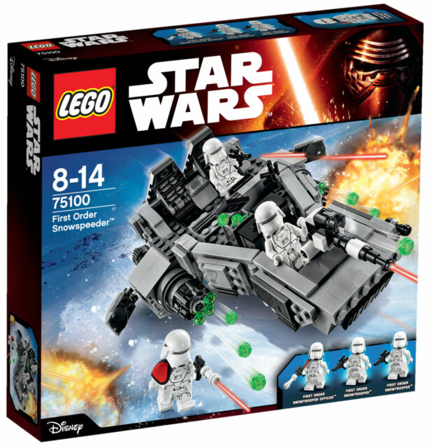 LEGO 75100 Star Wars First Order Snowspeeder