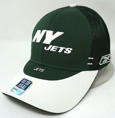 - NEW YORK JETS Hat Licensed NFL REEBOK EQUIPMENT Adult OSFM Ball Cap New