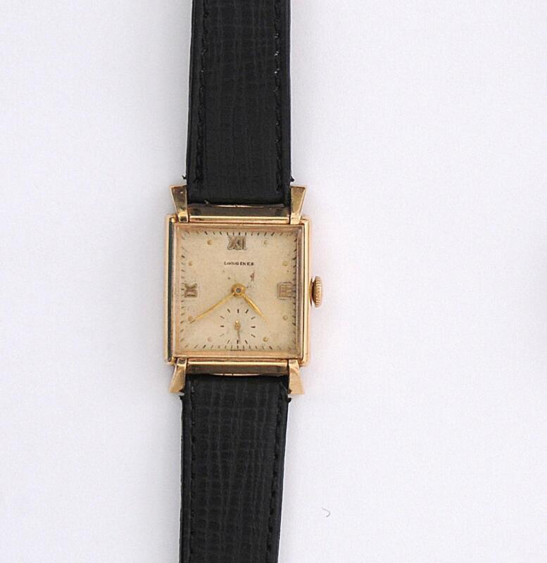 vintage longines mens gold ebay