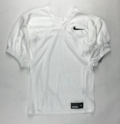 Dri-fit-training Jersey (New Nike Dri-Fit Training Football Jersey Mesh Polester Boy's M White AO4802)