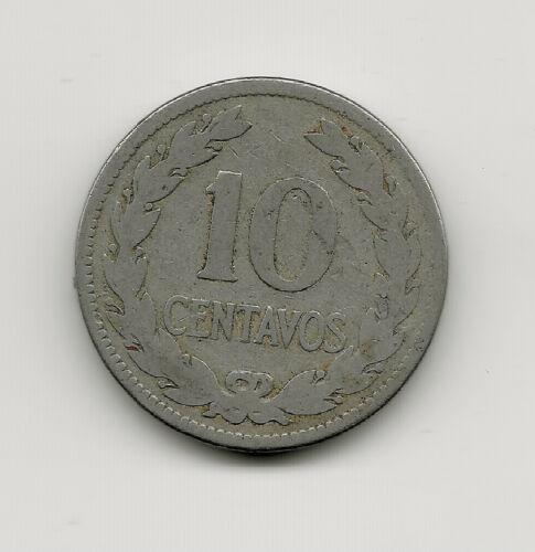 World Coins - El Salvador 10 Centavos 1921 Coin KM# 130