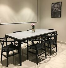 CONCRETE DINING TABLE BESPOKE BASE Sandringham Bayside Area Preview