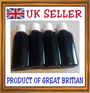 120ml (30ml x4) Universal Compatible Black Printer Ink CIS Inkjet Refill bottle