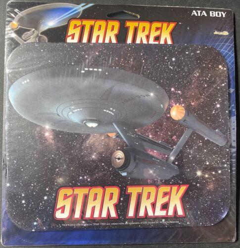 ATA BOY USS Enterprise NCC-1701 Star Trek Mouse Pad NEW FS 'Sullys Hobbies'