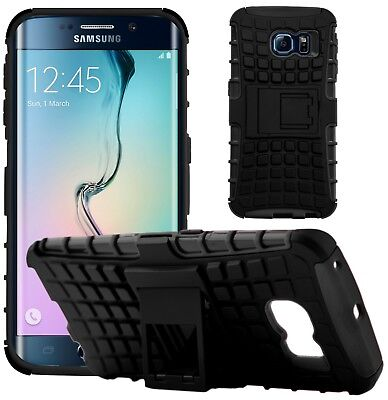 G-Shield® Shockproof Heavy Duty Hard Armour Stand Case Cover For Samsung S6 Edge