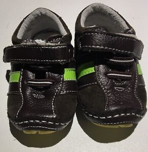 Brown and Green Rubber Soles Size 3 Shoes Great Condition Bentleigh East Glen Eira Area Preview