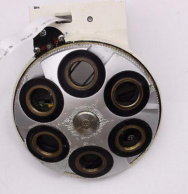 Zeiss Axio Dic Nomarski Motorized Nosepiece Sextuple Rms Turret Microscope