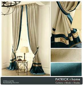 PERFECT VELVET CURTAIN $24/m MADE TO ORDER (No.514)