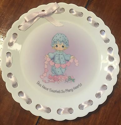 Precious Moments ''You Have Touched So Many Hearts '' Porcelain 8-1/8'' Plate
