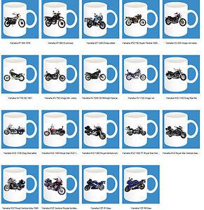 300ml-ceramica-taza-con-motivo-de-YAMAHA-PARTE-3-Motocicleta-Modelo-Cafe-BICI