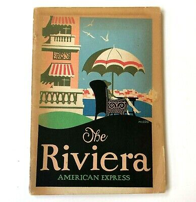 Vtg 1926 The Riviera by American Express Brochure Travel Hotel Tour 64 Pages