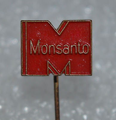 Monsanto Chemical Agriculture Seeds Gmo Vintage Stick Pin Badge Rare  2