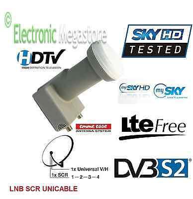 LNB SCR - ILLUMINATORE SCR UNICABLE PER SKY MYSKY MYSKYHD CON FILTRO LTE LNB013