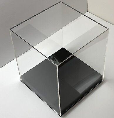20 X 20 X 20 Acrylic Display Box W Base Display Case Clear Showcases Store
