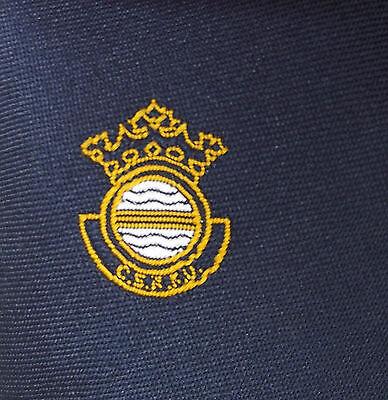CSRFU tie Civil Service Rugby Football Union navy blue tie Crown SPORTS CLUB