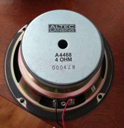 """Altec Lansing  Speaker  6 1/2"""" Woofer Md. A4468 4 Ohm"""