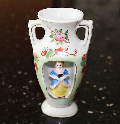 Vintage miniature Occupied Japan vase figural urn