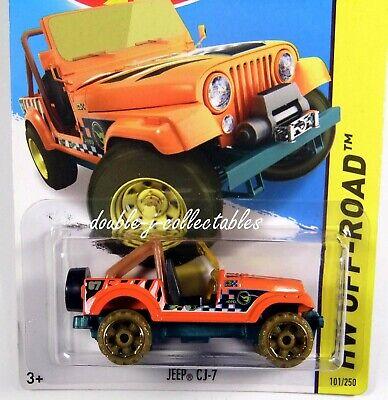 2015 Hot Wheels OFF-ROAD Treasure Hunt JEEP CJ-7 Orange