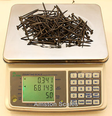 31 Off Refurbishedused Counting Parts Coin Scale 16 X .0005 Lb 7.5 Kg X 0.2 G