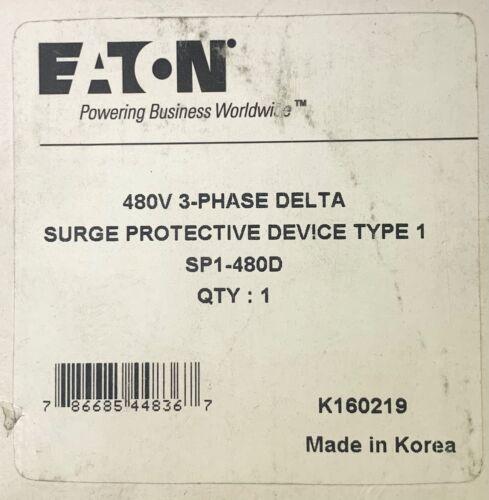 EATON SP1-480D Surge Protective Device SPD 480 VAC SP1 480D K160219
