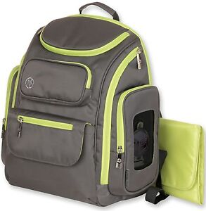 jeep everyday easy access perfect pockets baby diaper bag backpack lime new ebay. Black Bedroom Furniture Sets. Home Design Ideas