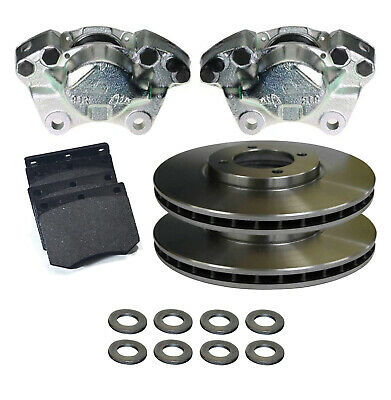 FORD GALAXY MK2 2.8 2000-2006 REAR BRAKE DISCS 294MM AND BRAKE PADS SET NEW