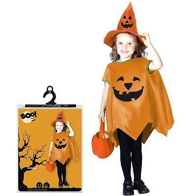 Halloween Pumpkin Patch Jungen Mädchen Kleinkind 1-4 Kostüm Süßes oder (Pumpkin Patch Kostüm)