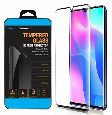 For Xiaomi Mi Note 10 Lite 3D Curved Tempered Glass Screen Protector Cell Phone Accessories