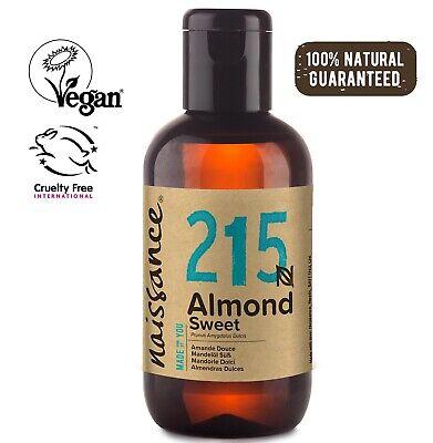 Naissace Aceite de Almendras Dulces 100ml - Hidrata el cabello y todo...