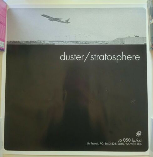 Duster Stratosphere poster Up Records 1990s original glossy official slowcore