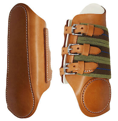 Horse Equine Leather Sports Medicine Splint Boots Amish Made in USA Tack 4121