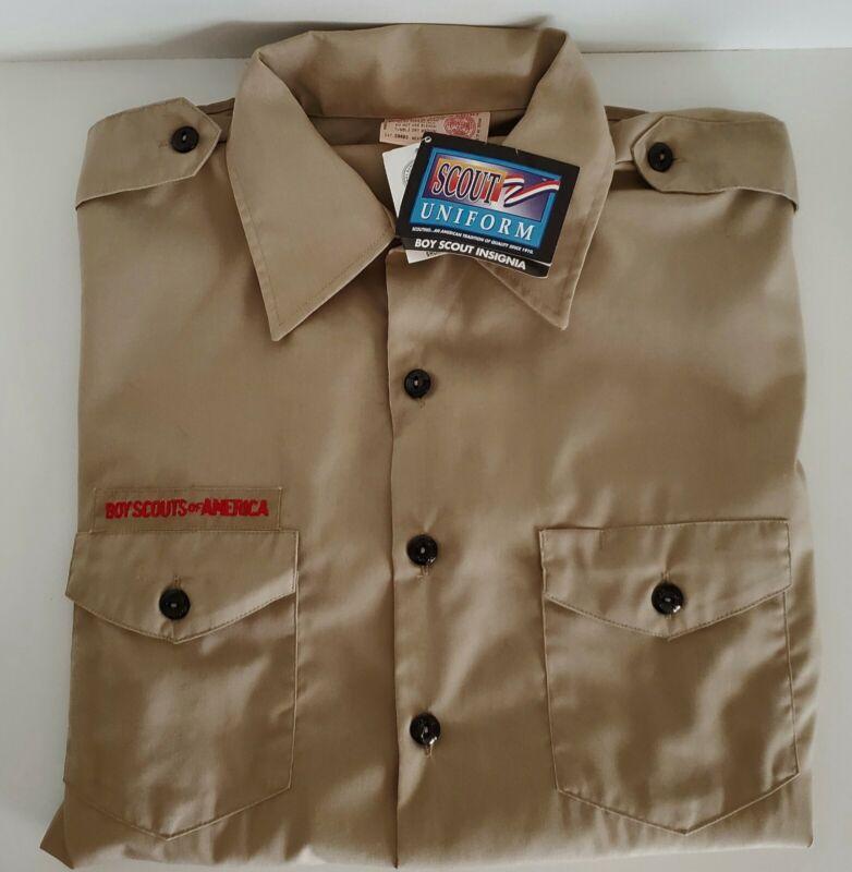 Boy Scouts Of America Uniform Shirt BSA MEN Size LARGE Lg NWT
