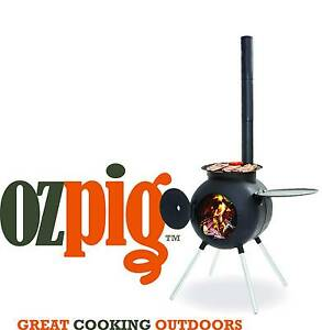 Ozpig Pot Belly Stove/Wood Heater Ideal for Camping or Backyard West Gosford Gosford Area Preview