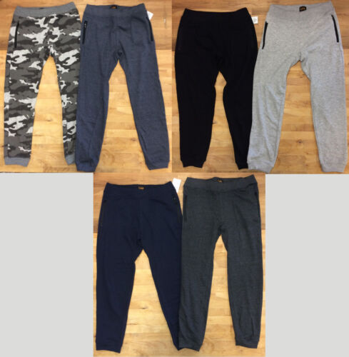Lee Boys 2-Pack Fleece Relaxed Fit Jogger, Multiple sizes and colours