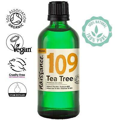 Árbol de Té BIO - Aceite Esencial 100% Puro - 100 ml...