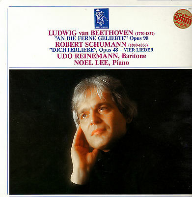 CLASSICAL LP BEETHOVEN SCHUMANN UDO REINEMANN NOEL LEE ()