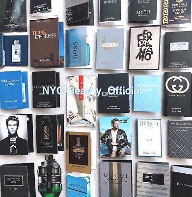 Lot of 10 - Men Fragrance Samples Random Lot Surprise bag HERMES YSL GUCCI...