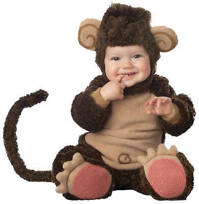 Lil' Affe Kleinkind Baby Kostüm Kinder Tier Braun Halloween