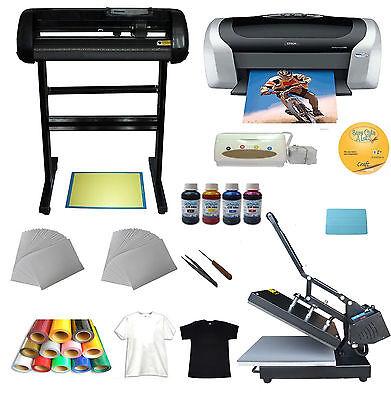 Heat Pressvinyl Cutterprinterink Paper T-shirt Transfer Start-up Kit