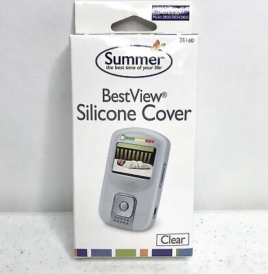 Summer Infant Clear Best View Monitor 28030/28034/28035 Silicone Protector (Best Panorama Monitors)