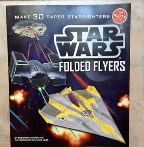 Star Wars Folded Flyers by Klutz Labs New